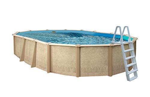 Interline 55000120 oval Pool Sunlake Komplett Set - 9