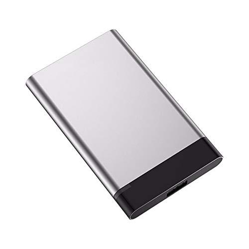 VDSOIUTYHFV Disco Duro Externo Portátil 2.5' USB 3.0 Ultrafino Diseño Metálico HDD para Mac, PC, Laptop, Ordenador, Xbox One, PS4, Smart TV