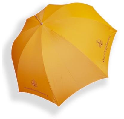 Veuve Clicquot Regenschirm Sonnenschirm Stylisches Champagner Design Accessoire