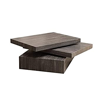 Christopher Knight Home Modernesque Rotating Coffee Table Black