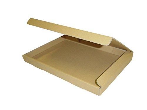 ダンボール箱ゆうパケット・クリックポスト用(段ボール箱)A4サイズ50枚(外寸:325×240×29mm)(3ミリ厚)