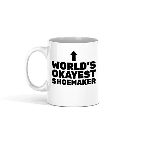 N\A Taza de café Shoemaker - El Mejor Zapatero del Mundo compañero de Trabajo - Tazas Divertidas Regalos de un Amigo