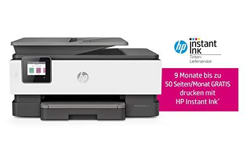 HP OfficeJet 8012 - Impresora multifunción (Tinta HP instantánea, A4, Impresora, escáner, fotocopiadora, WLAN, Duplex, HP ePrint, AirPrint) basalto 20 Seiten/Min