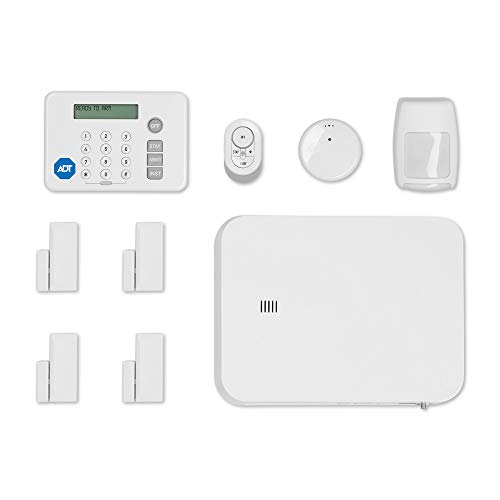 ADT DIY LifeShield 11-Piece Easy, DIY Smart Home Security System - Optional 24/7 Monitoring - No...