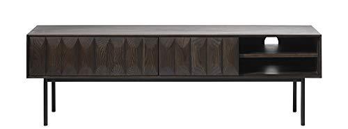 PKline TV Tisch Latina braun Eichen Dekor Fernsehschrank Fernsehtisch Lowboard Schrank