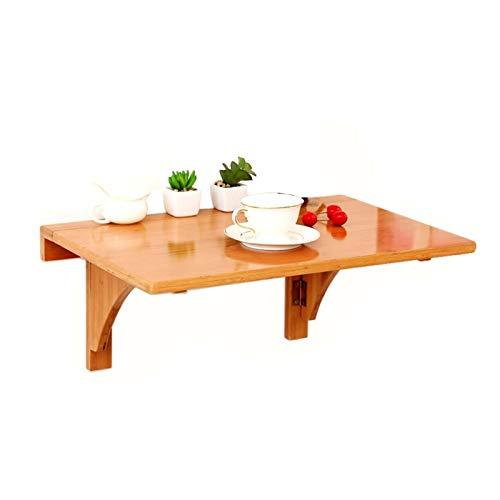 ZWYSL Mesa Abatible De Pared, Banco De Trabajo Flotante Ordenador Mesa De Comedor para Garaje Cocina Lavandería Baño (Color : A, Size : 70x45x26cm)