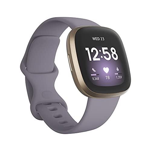 Fitbit Smartwatch Versa 3 - Dorado/lila, color