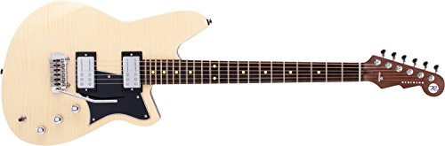 Reverend Kingbolt RA Electric Guitar (Natural Flame Maple)