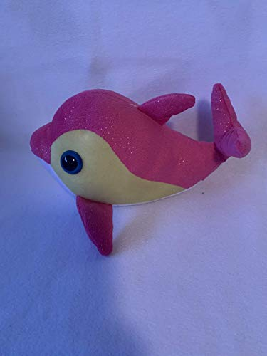 Weighted stuffed animals, small pink whale with 2 lbs, AUTISM PLUSH FISH