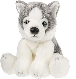 Wildlife Tree 12 Inch Stuffed Siberian Husky Puppy Dog Plush Floppy Pet Kingdom Collection