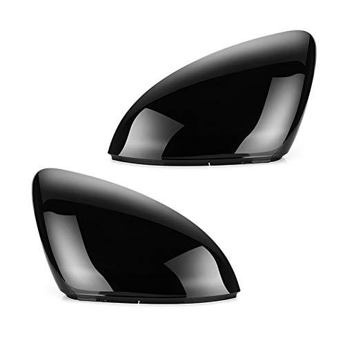 SHIJIE Cat and Mouse 2 Piezas FIT FOR VW Golf 7 MK7 7.5 GTD R GTI TURANO L E-Golf Lado Lado Espejo Espejo Caps Copa DE Cubierta DE Reproductor Espejo