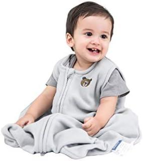 BEDSURE Sleeping Sack 12 18 Months Large L with Micro Fleece 2 Way Zipper Cozy Sleeveless Baby product image