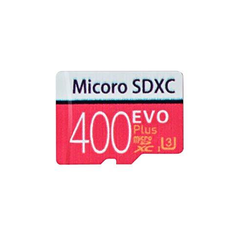 Carte mémoire Micro SD Haute Vitesse 400/512/256 Go conçue pour Smartphones Android, tablettes Classe 10 Carte mémoire SDXC avec Adaptateur (400g)