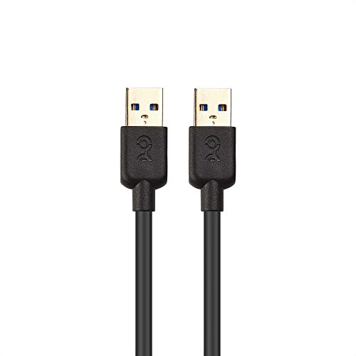Cable Matters USB 3.0 Cable (USB to USB Cable Male to Male) in Black 10 Feet
