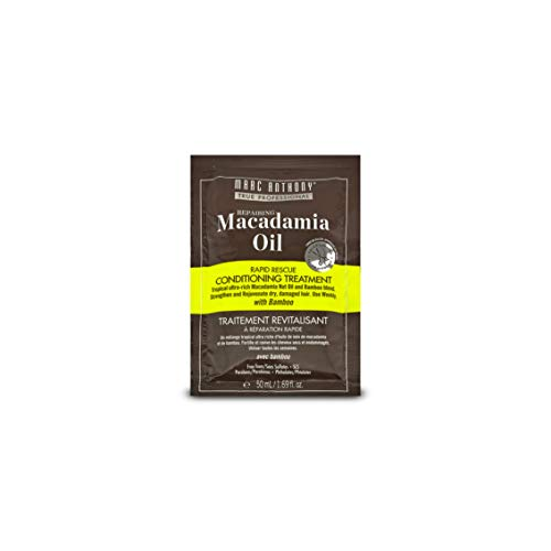 Marc Anthony Repairing Macadamia Oil Deep Healing Conditioning Treatment Packet x 2