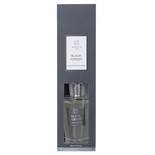 Grote Reed Diffuser Premium Home Geur Glazen Fles Zwart Rieten 300ml