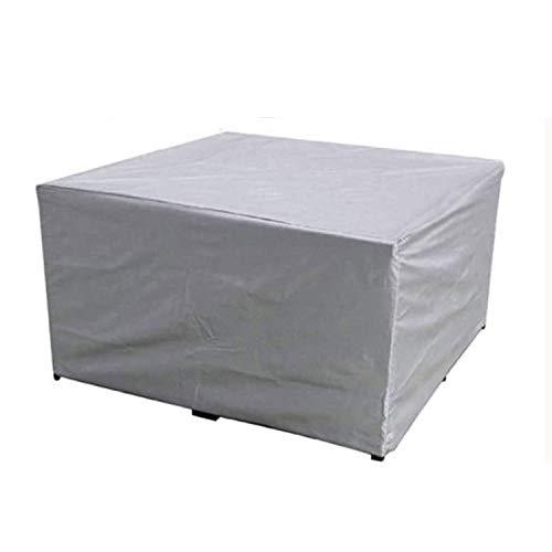 BAJIAN-LI Funda Protectoras Muebles Jardin, 210D Oxford Copertura Impermeable Resistente al Polvo Anti-UV Protección Exterior para Asientos, Mesas de Jardín y Packs de Muebles Rectangulares