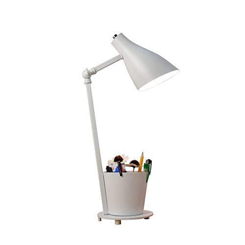 Lámpara de Mesa LED Eye-El cuidado de lámpara de escritorio con la pluma titular y luz de la noche de ahorro de energía de iluminación luz del escritorio for la sala de estar y dormitorio Oficina Lámp