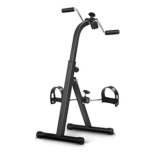 GAOTTINGSD Stepper Pedale Ginnico - Mano-Braccio Leg & Knee Recupero Medical Peddler - Pieghevole Regolabile Fitness Rehab Attrezzature for Anziani, Anziani - Casa Pedale Cyclette for Total Body