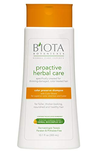 Pack of 2 BIOTA BOTANICALS PROACTIVE HERBAL CARE COLOR PRESERVE CONDITIONER