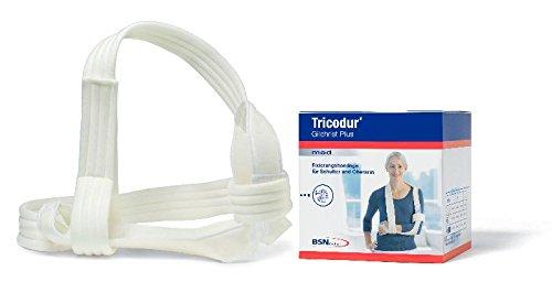 Schulterbandage Tricodur Gilchrist Plus, Farbe weiß, Größe S