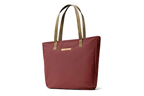 """Bellroy Tokyo Tote, borsa in tessuto impermeabile (notebook da 13"""", tablet, appunti, cavi, borraccia, vestiti di ricambio, oggetti quotidiani) - Red Earth"""