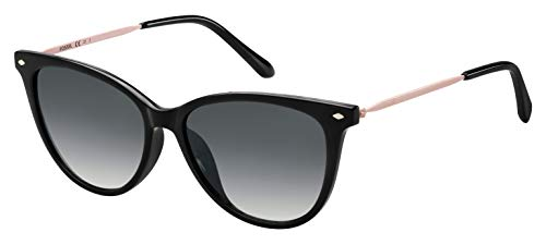 Fossil Fos 3083/S Gafas de sol, Multicolor (Black), 54 para Mujer
