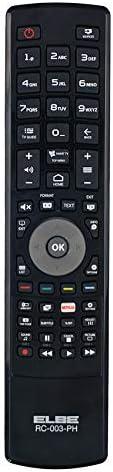 Elbe RC-004-SA Mando a distancia de sustitución para TV samsung, mando remoto, no requiere programación, listo para usar, compatible con modelos LED/LCD/TFT/plasma, color negro: Amazon.es: Electrónica