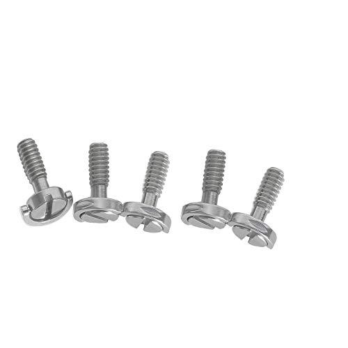5 x D-Ring-Schraube, Kamera-Schnellwechselplatte, D-Ring, Stativ-Platte, Schrauben-Adapter, lange Schraube, Kamera-Schnellwechselplatte.