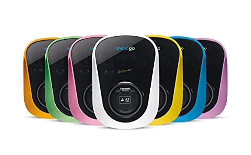 Wallbox Smart Edition Caricatore Auto elettriche con Una Potenza di Carica di 22kW Cavo 5metri connettore Tipo 2 con Presa Mennekes connessione WiFi/RFID/App dedicata Certificazioni TUV CE Plug&Play