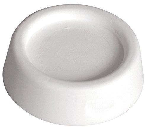 Sanitop-Wingenroth 21341 7 universele trillingsdemper voor voeten tot een diameter van 43 mm, set van 4, wit