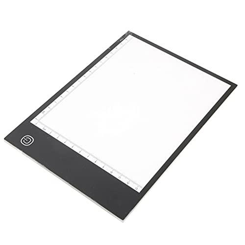 Gaeirt Mini Tablero de Copia Delgado portátil, Tablero de Caja de luz de Seguimiento LED, es Adecuado para el diseño de Dibujo La luz Suave Protege los Ojos