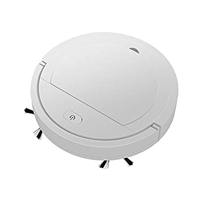 KKmoon Robot Vacuum Cleaner 1800Pa Powerful Suction Automatic Smart Wireless Robotic Sweeping Vacuum Cleaner High Coverage L Dry Wet Cleaning Machine for Pet Hairs Hard Floor and Medium Carpet