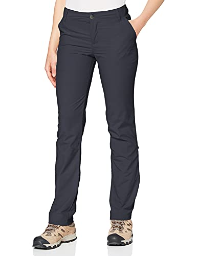 Columbia Silver Ridge 2.0 Pantalón de Senderismo Nailon, Mujer, Azul (India Ink), Talla US: W6/R/ (EU W38/R)