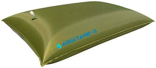 Water Storage Tank - Bladder - Bag - AQUATANK2 Stores Water For Your Emergency Water Supply - It Is a Light-Weight and Portable Water Container, Food-Grade Material, no BPAs (30 Gallon)