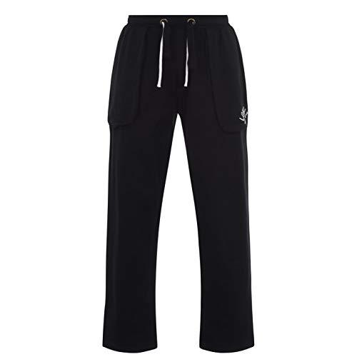 Lonsdale Pantalon de survêtement pour homme Pantalon de sport idéal pour la boxe - Bleu - XX-Large