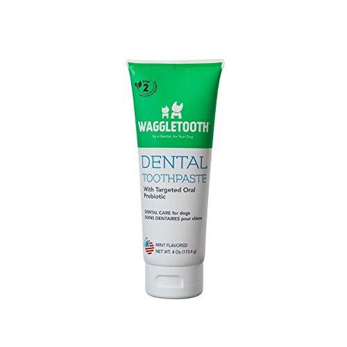 Waggletooth Dog Dental Toothpaste 4 oz, White