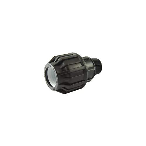 Ezfitt - Raccord de compression avec filetage male BSP - Ø A: 50mm | Ø B: 1''1/2