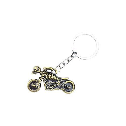 No merk sleutelhanger voor auto 1 PC motorfiets sleutelhanger van roestvrij staal auto accessoires voor auto sleutels