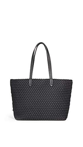 Best Prices! Naghedi Women's Jet Setter Small Tote, Onyx, Black, One Size
