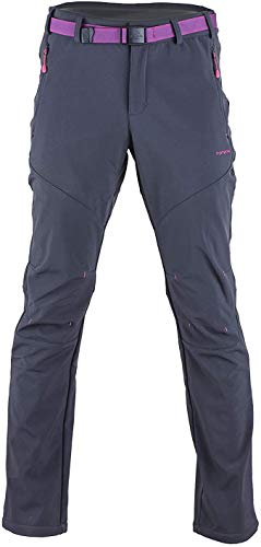 Tofern Femme Pantalon Softshell Ultra Thermique...