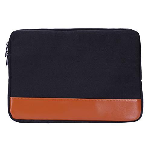 BKAUK 11,6-13,3 Zoll Hülse Laptop Fall Für ir Pro Ultrabook Notebook Tablet Computer Tragbare Weiche Rei?Verschluss Tasche Für (Schwarz)