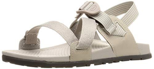 Chaco Women's Lowdown Sandal, Light Grey, 6