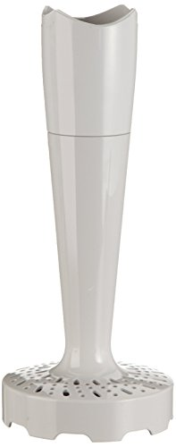 Braun Kartoffelstampfer Aufsatz MQ 50 - Stabmixer Zubehör kompatibel mit Braun MultiQuick 3 - 7 mit EasyClick System, weiß