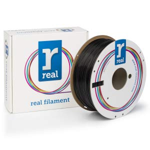 PLA filament Black 1.75 mm / 3 kg Real