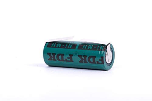 Ersatzakku FDK von WG® 2150mAh 1.2V 42x17mm kompatibel mit Braun Oral B Elektrische Zahnbürste Typ 3764 Pro 4000 5000 5550 6000 7000, Trizone 6000 6500 7000, Black White 6500 7000, DeepSweep 5000 5550