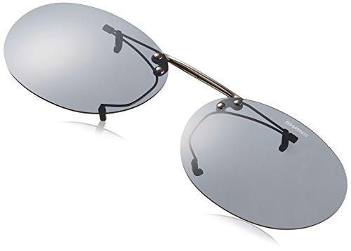 SWANS(スワンズ) サングラス メガネにつける クリップオン 跳ね上げタイプ SCP-3 SMK2 偏光スモーク2