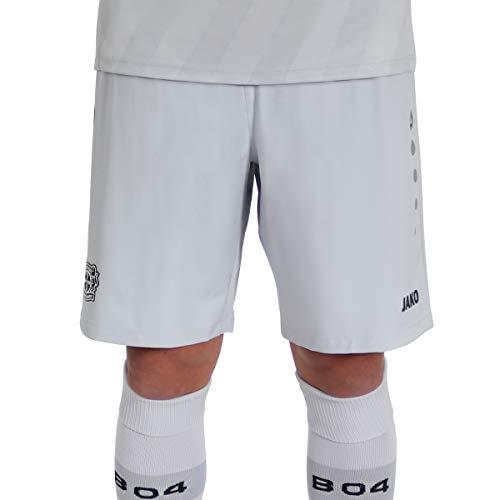 Jako Herren Bayer 04 Leverkusen Short Ausweich, (Saison 19/20), grau, M, BA4419I
