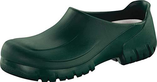 Birkenstock Kunststoff-Clogs ''A 640'' aus PU in Grün 41.0 EU M