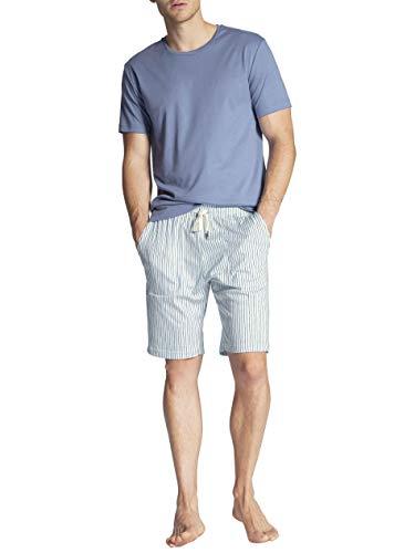 Calida Casual Smart Kurz-Pyjama, Rundhals Herren